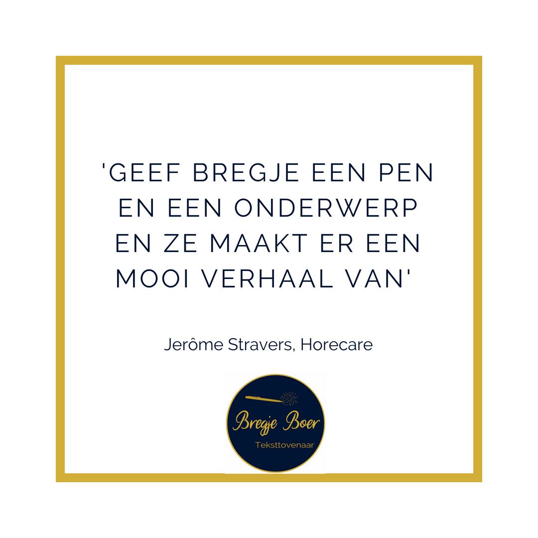 Referentie Horecare bregjeboer.nl